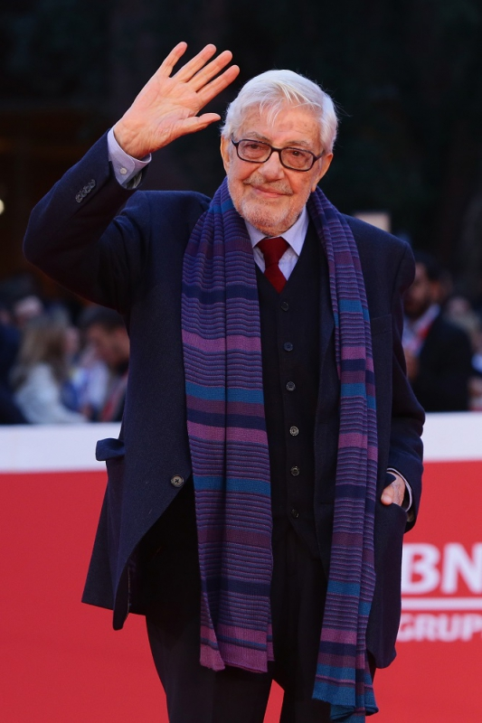 attends the red carpet for 'Ridendo E Scherzando' during the 10th Rome Film Fest on October 18, 2015 in Rome, Italy.
