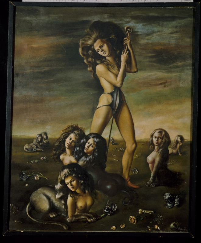 The Shepherdess of the Sphinxes (La pastorella delle sfingi)