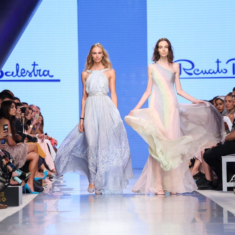 Renato Ballestra Resort 2018 Collection, Arab Fashion Week, Dubai