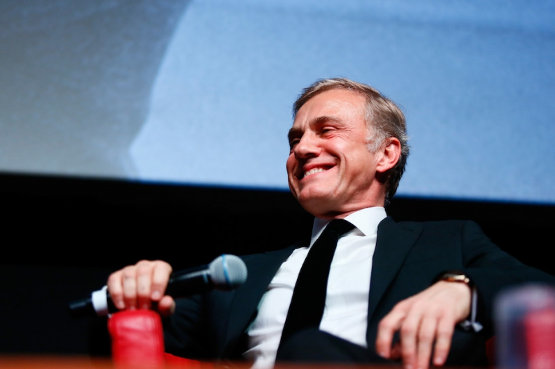 ROME, ITALY - OCTOBER 26: Christoph Waltz meets the audience during the 12th Rome Film Fest at Auditorium Parco Della Musica on October 26, 2017 in Rome, Italy. (Photo by Ernesto S. Ruscio/Getty Images) *** Local Caption *** Christoph Waltz