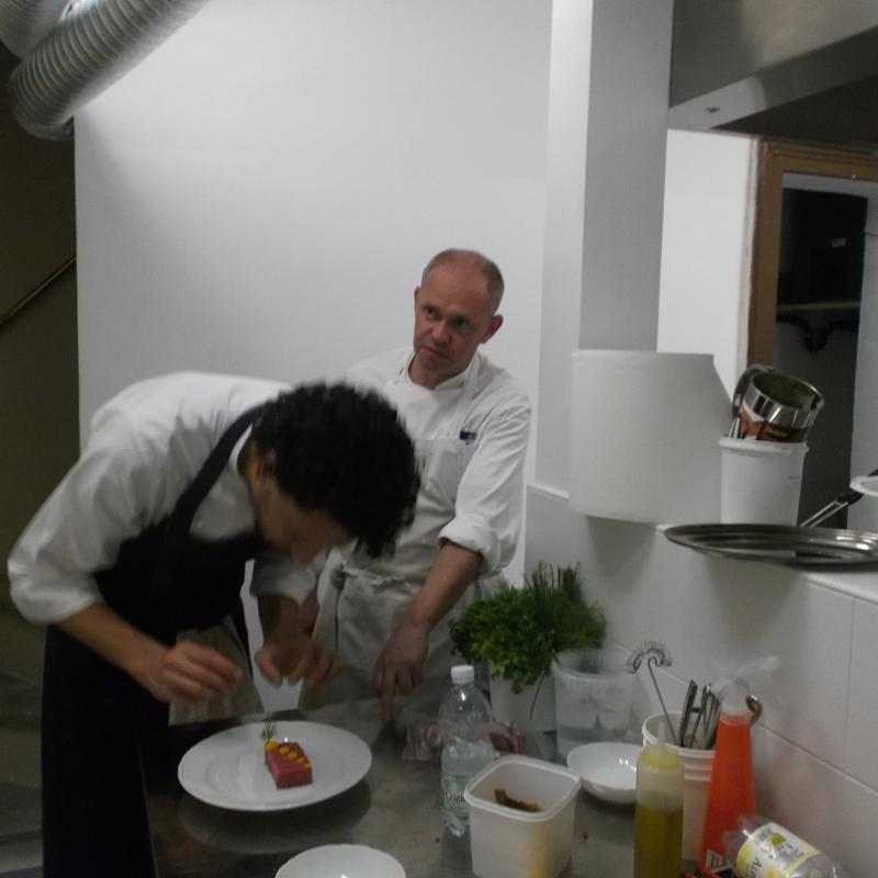 Preparazione piatti