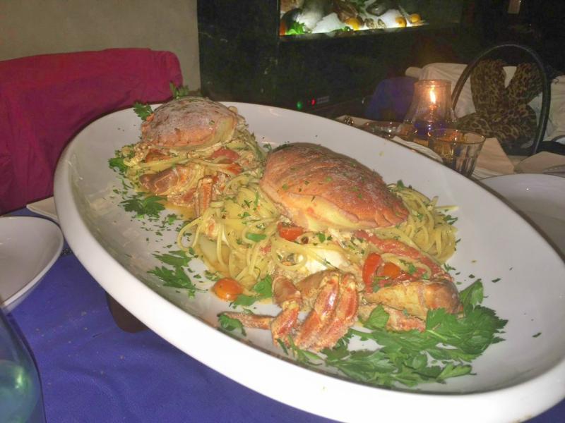 Il Cormorano - Spaghetti al granchio