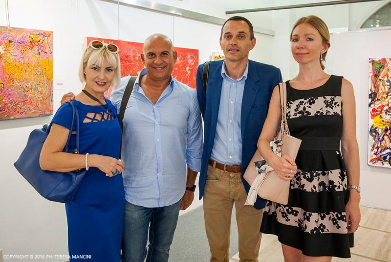 Arvedo Arvedi con Erika Gottardi, Massimiliano Piccinno e altri ospiti