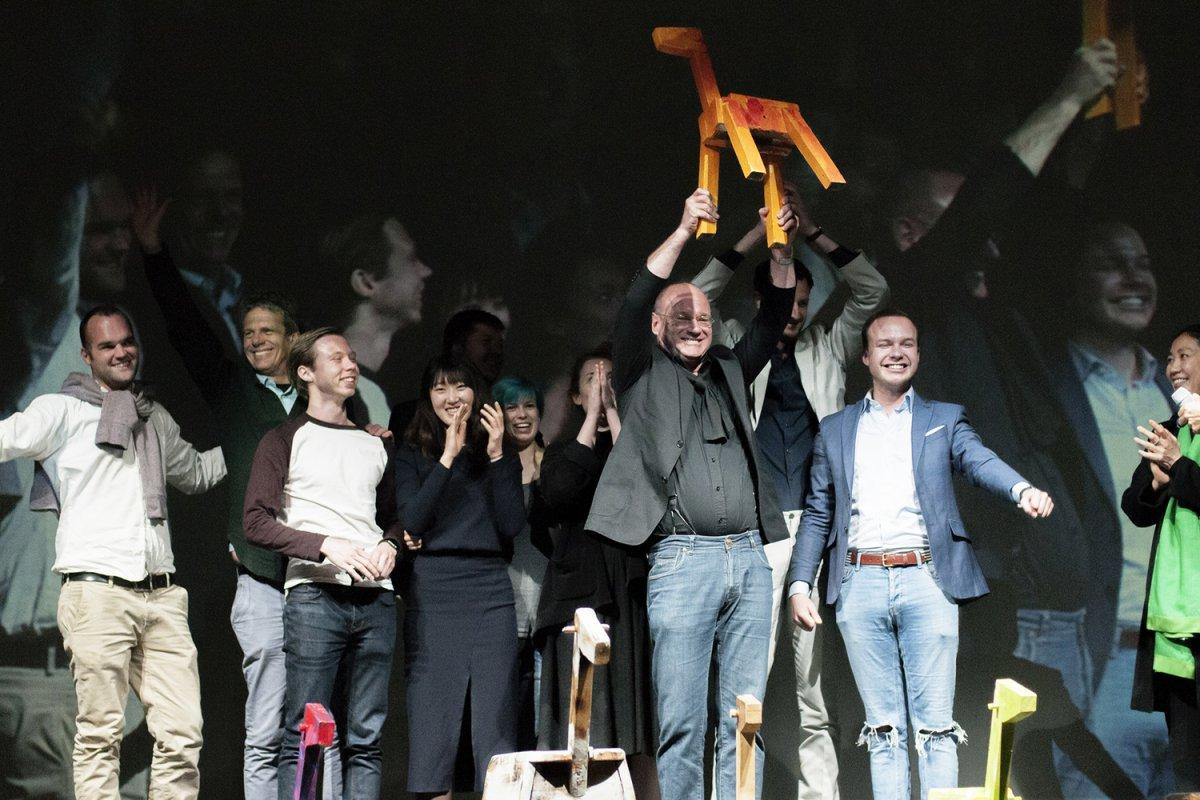 Luca cipelletti trionfa al milano design award 2016 mywhere for Milano design award