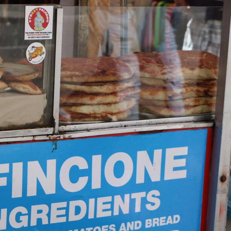 street food sfincione
