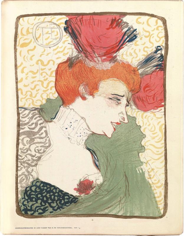 Toulouse-Lautrec - Mademoiselle Marcelle Lender