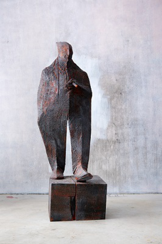Wilhelm Senoner - Uomo con sigaro