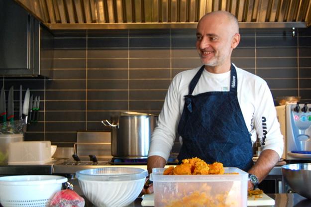 Giovanni Bernardi, chef di casa Viabizzuno