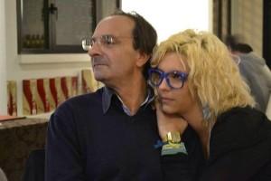 Roberta con il papà Miro