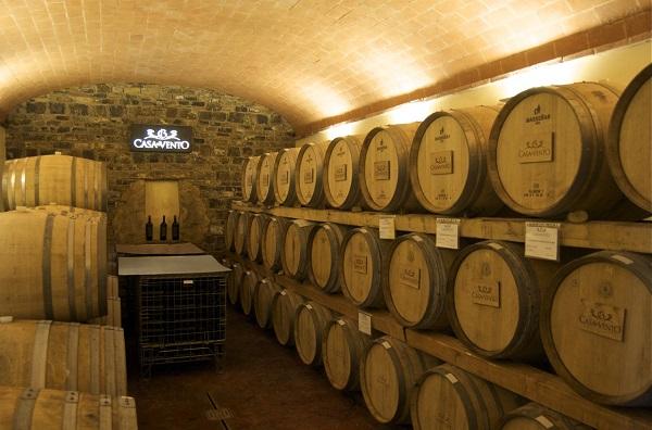 Borgo Casa al Vento barrique-room