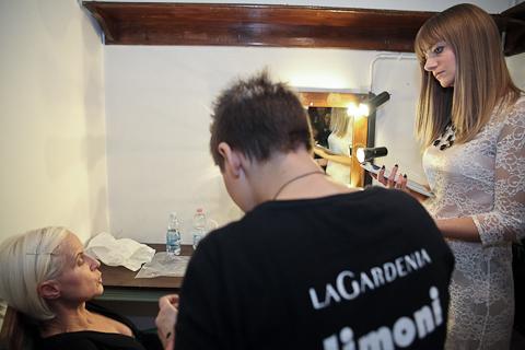 Michela Bellinazzi intervista Carla Gozzi prima dello spettacolo