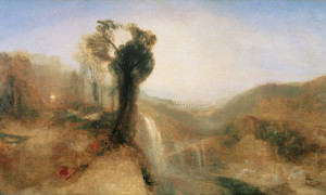 William Turner - Paesaggio a Nepi Hogarth Reynolds Turner