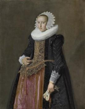 Frans Hals - Ritratto di Aletta Hanemans