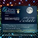 Festeggiare il solstizio d'estate al Porto d'Ulisse incantati dalla Maga Circe