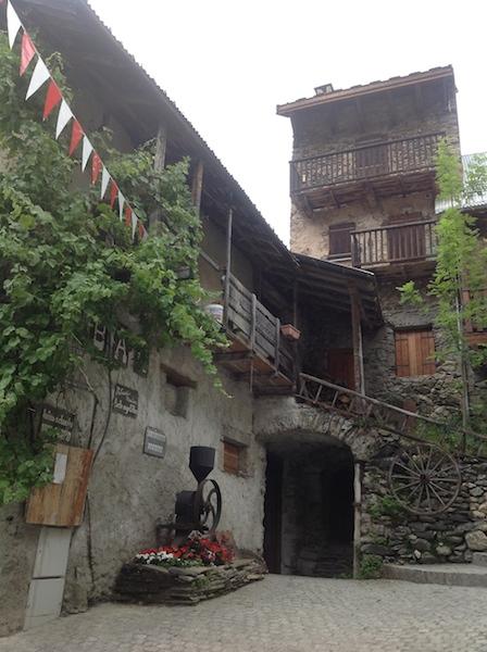 Il villaggio di Venosc