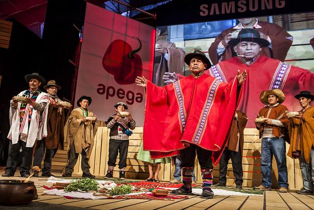 Premiación Rocoto de Oro 2014. Festival gastronómico Mistura 2014. Foto: Supayfotos/APEGA.
