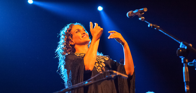 Una strepitosa Noa in concerto al Teatro Duse di Bologna