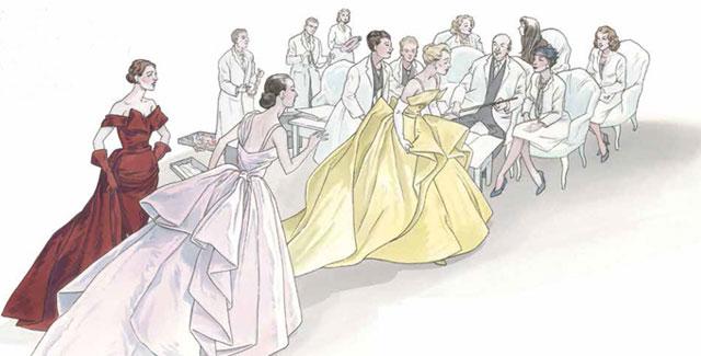 Christian Dior a fumetti