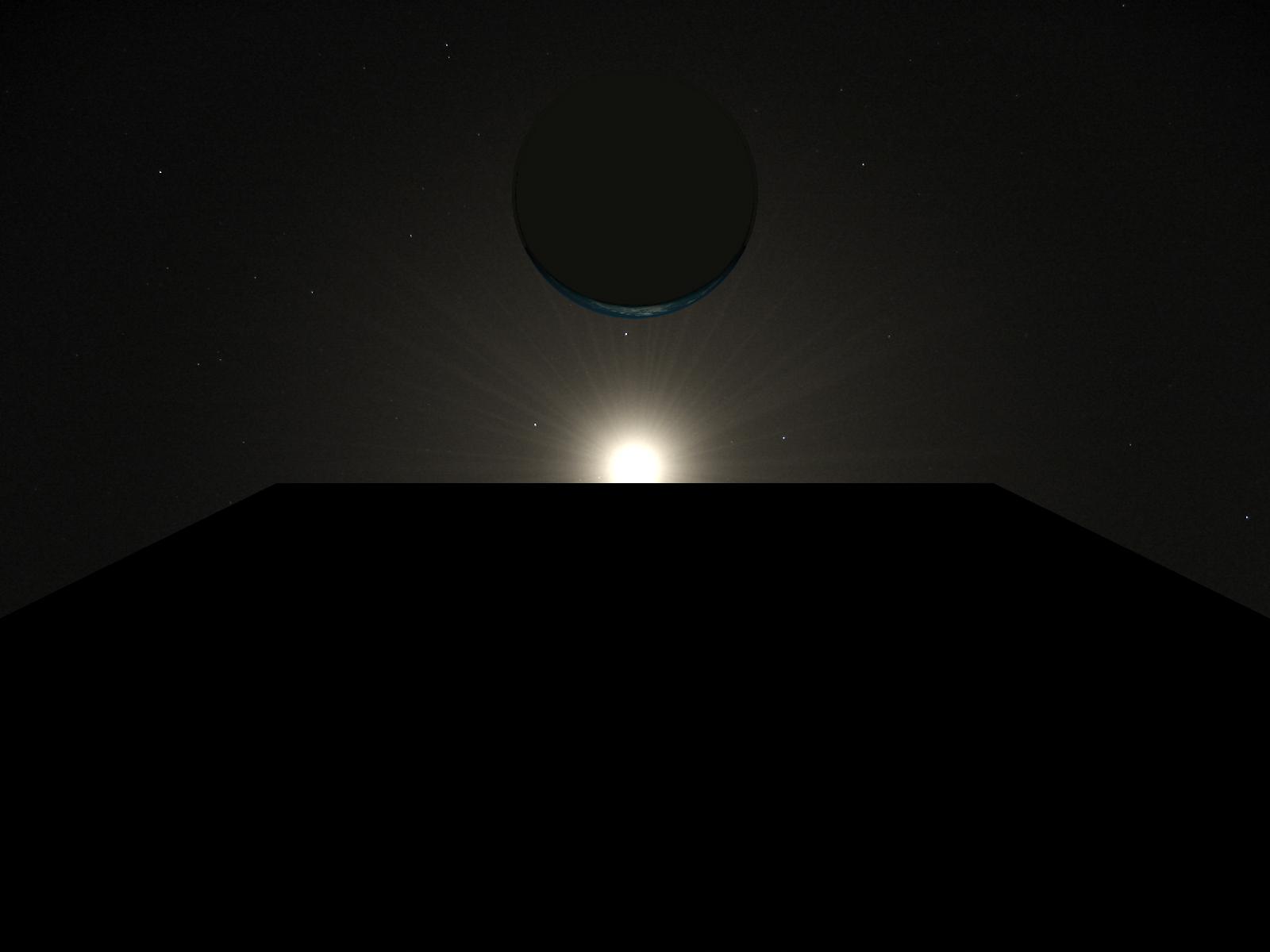 Monolith-Earth-Moon