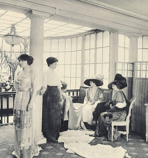 1910 House of Paquin - Salon de Vente - Paris Fashion