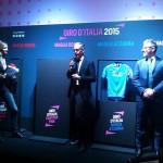 Le maglie del Giro d'Italia presentate in anteprima al Pitti Uomo 2015