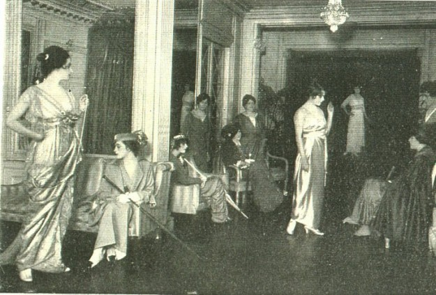 Lucile 1914 styleshow