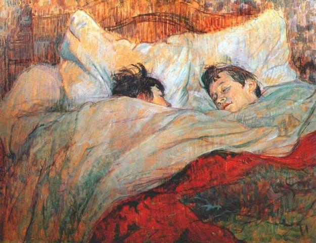 H. de Toulouse Lautrec, Bacio a letto, 1983 (Museo d'Orsay, Parigi)