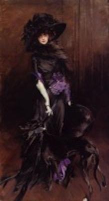Luisa Casati, ritratto di G. Boldini