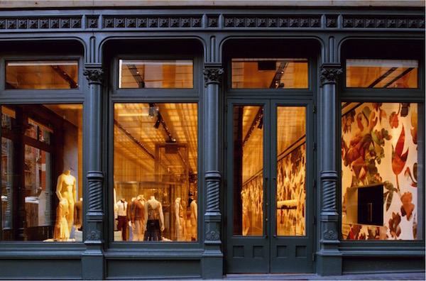 Facciata negozio New York