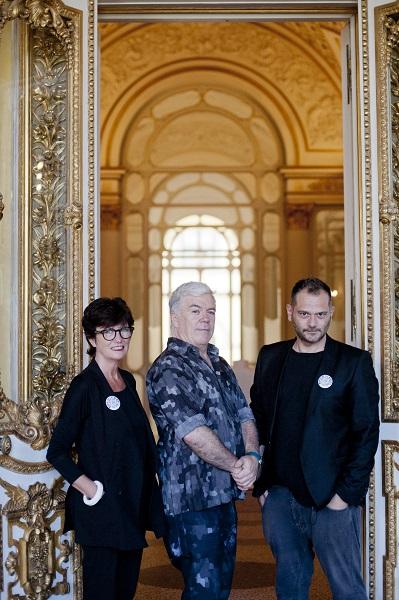 Linda Loppa, Tim Blanks e Danilo Venturi Photo Dario Garofalo