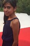 "Aline Santana, giovane protagonista del film ""Boi Neon"""