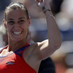 Flavia Pennetta Regina del tennis a New York