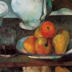 29 - Paul Cézanne. Still Life with Apples and a Glass of Wine, 1877-79, Philadelphia Mus.ofArt