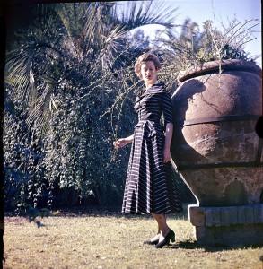 Pasquale De Antonis Roma Marella Caracciolo di Castagneto vestito Battilocchi 1949