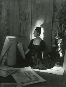 Pasquale De Antonis Irene Brin Galleria Obelisco vestito Carosa 1946