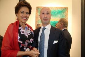Milissa con Claudio Proietti