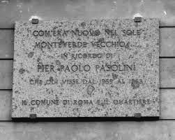 La Targa in marmo di Via Carini
