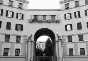 Il Palazzo dei Ferrovieri di Casal Bertone