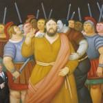 La Via Crucis di Botero al Palazzo delle Esposizioni