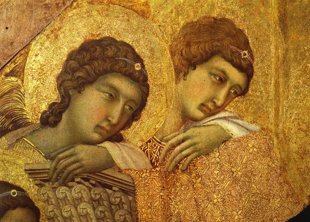 Alba e angeli al duomo di Siena