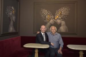 Kusterle con Claudio Proietti