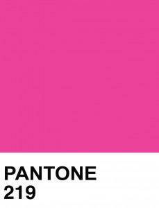 pantone 219