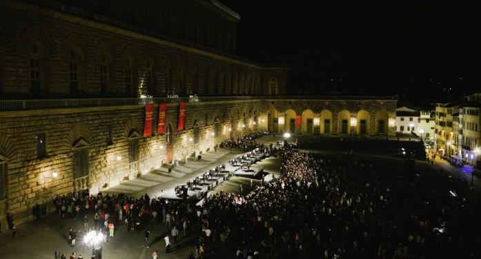 Grande serata d'inaugurazione della manifestazione Pitti Immagine Uomo 90.