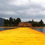 Lavorare per Floating Piers: l'esperienza con Christo