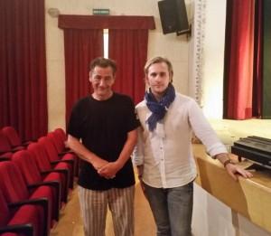 Con il regista Massimo Macchiavelli