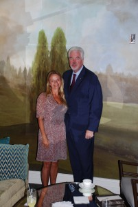 Fairmont Vice President & General Manager Paul Tormey
