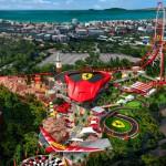 Ferrari Land, la passione rossa accende Barcellona