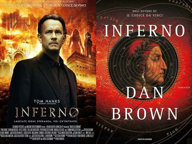 Tom Hanks e l'Inferno di Dan Brown a Firenze
