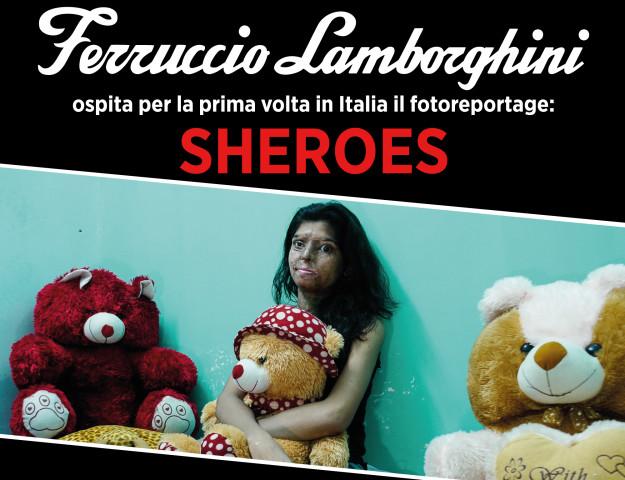 Sheroes: al Ferruccio Lamborghini una mostra sulla violenza di genere