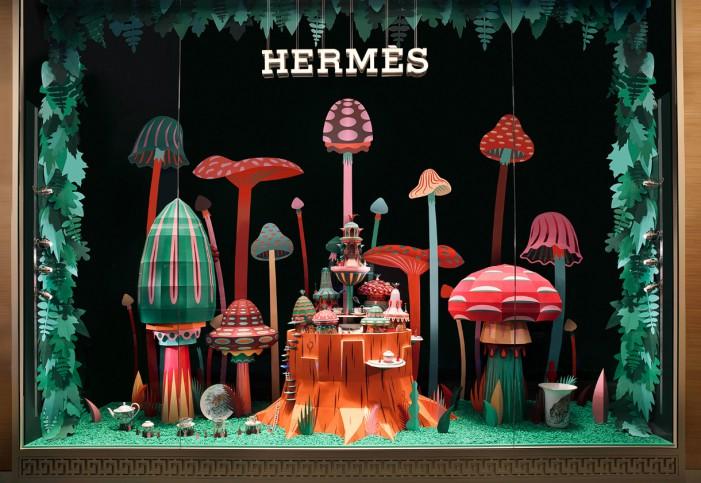 Boutique Hermès a Dubai: ed è subito fiaba
